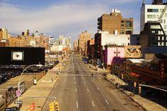 "10th Ave New York. ""Alone!""  - by Hans Schumacher"