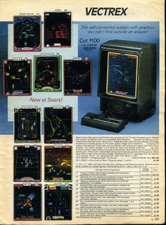 MB Vectrex - 1982  Kotaku Gallery