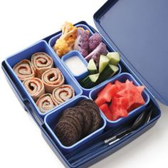 Pizza Roll-Up Bento Lunch (slide show for healthy kid lunches... or adult whatever)