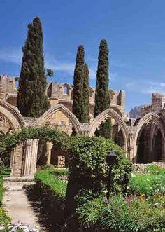 Bellapais in Northern Cyprus