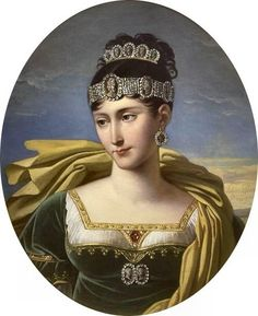 Pauline Bonaparte, sister of Napoleon, considered one of the most beautiful women in Europe. Married twice, first to a French army general, then an Italian prince, with many affairs in between. She was also the only Bonaparte sister to visit Napoleon on Elba.