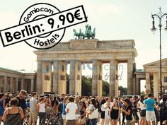Berlin for 9,90€/  #Berlin happened to be the #centre of #world #history in the last decade and is THE cheap city to #travel to in #Europe! And there are also dozens of things to do for #free e.g. visiting #BrandenburgerGate, getting #FreeTours, and hanging out at the #TempelhoferPark. Find your #cheap #Hostel in Berlin on Gomio  http://www.gomio.com/en/hostels/europe/germany/berlin/search.htm  #Backpacking #travel #cheapeurope #budgettravel #summer #sun #beach #sea #beauty #awesome