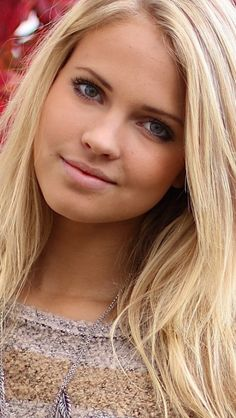 Pretty norwegian women