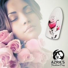 """Azra's Fashion Day: Valentine's Day is coming! Nailart """"beautiful roses"""" #roses #nails #naildesign #valentine #nailart #beautiful"""