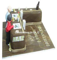 Pub Bar Birthday Cake
