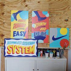 Nike Joyride signage on Behance