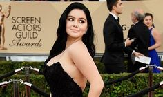 The 'Modern Family' star says she didn't even try to cover up her scars when attending the prize-giving ceremony in a backless black dress and there's a reason for it.