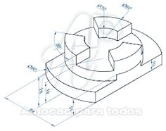 How to Draw A Loch Ness Monster - Drawing On Demand Autocad Isometric Drawing, 3d Autocad, Drawing Skills, Drawing Practice, Drafting Drawing, Geometric Construction, 3d Drawings, Technical Drawings, Interesting Drawings