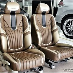 Likes, 34 Comments - The Hog Ring Car Seat Upholstery, Car Interior Upholstery, Automotive Upholstery, Custom Car Interior, Car Interior Design, Truck Interior, Leather Car Seat Covers, Custom Vans, Car Accessories