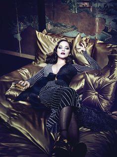 Fashiontography: Marion Cotillard by Craig McDean