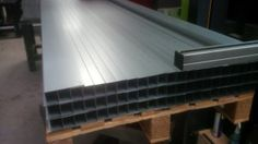 3M long folded sheet metal sections.  Sheet metal workers in Winchester Hampshire http://www.vandf.co.uk/looking-for-sheet-metal-workers-in-the-winchester-area/
