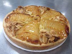 Pear and Almond Tart ( Tarte Bourdaloue ) 2