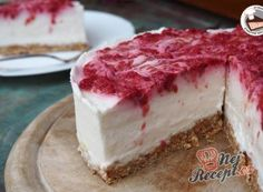 Nejlepší recepty na sladké narozeninové dorty (str. 4 z 11) | NejRecept.cz Raw Cake, Thing 1, Tiramisu, Camembert Cheese, Cheesecake, Nutella, Gluten Free, Sweets, Cooking