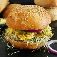 Pains burgers moelleux bun vegan (farine d'épeautre complète T130) #vegan #burger