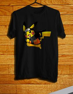 8538f760 PIKACHU NARUTO Men's TShirt Pokemon TShirtNaruto by CHILITY, $17.99 T Shirt  Pokemon, Pokemon T