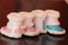 baby Swarovski Rhinestones Boots, 0-3 month. $59.00, via Etsy.