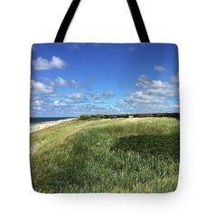 Island Sylt.germany Tote Bag by Marina Usmanskaya #MarinaUsmanskayaFineArtPhotography #ArtForHome #FineArtPrints #IslandSylt #Germany #NorthSea