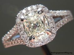 diamond rose and white engagement ring - My Engagement Ring