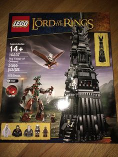 LEGO LORD OF THE RINGS THE TOWER OF ORTHANC, 10237, New Unopened