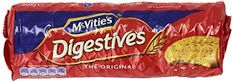 Amazon.com : McVitie's Digestive Biscuits -400g 3 Pack, Original : Packaged Biscuit Snack Cookies : Grocery & Gourmet Food Digestive Cookies, Digestive Biscuits, Gourmet Recipes, Snack Recipes, Dessert Recipes, Snacks, Cheesecake Desserts, Blueberry Cheesecake, Mcvities Digestive