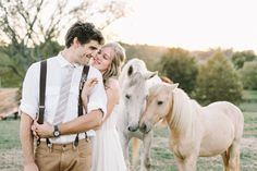 horses on your wedding day.  obsessed with this photo ulmer studios!
