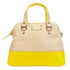 kate spade new york Grove Court Large Maise #VonMaur #KateSpadeNewYork #ColorBlock #Yellow