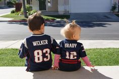 Lil' #Patriots fans