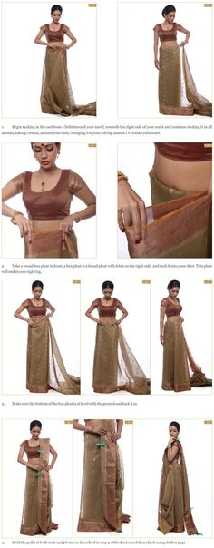 LEARN HOW TO DRAPE A SAREE LIKE A STAR ... Saree draping is an art Kalpana Shah has mastered over the years. Her creative draping techniques have won her an impressive roster of clients, bollywood celebrities to industrialists. HERE ARE HER TIPS!