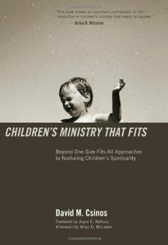Children's Ministry that Fits blends insightful research, relevant theory, and practical ministry into a guidebook for discovering and understanding children's spiritual styles. David M. Csinos offers practical wisdom that will help ministers, worship leaders, parents, and children's workers to move beyond one-size-fits-all approaches to children's ministry and begin nurturing the spiritual lives of children in welcoming and inclusive environments.