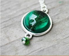 Emerald green. Simply gorgeous