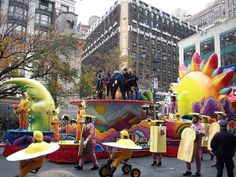 Macys Thanksgiving Parade, Happy Thanksgiving, Parade Floats, New Smyrna Beach, Happy Thanksgiving Day, Parade Float Supplies