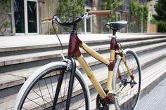 Modèle fixie en bambou