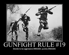 GUNFIGHTER RULE