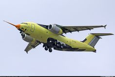 Antonov An-178 UR-EXP (cn 001) In contrast to the rainy weather the first flight of An-178 has been completed perfectly
