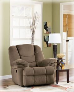 Galaxy - Mocha Rocker Recliner