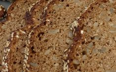 saftiges low carb-Brot