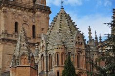 Detalle Catedral Vieja de Salamanca