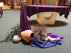 Blessed Sacrament Lent arrangement