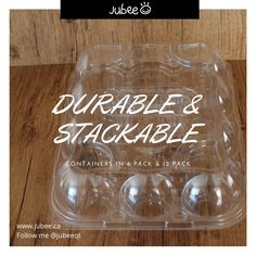 Durable and Stackable. Great Containers! Sturdy and reliable. #durable #stackable #sturdy #reliable #great #excellent #containers #carriers #holders #boxes #cupcakes #muffins #instadaily #instabake #bakeon #jubee #jubeeqt Cupcake Container, Cupcake Carrier, Muffins, Boxes, Cupcakes, Muffin, Crates, Cupcake Cakes, Box