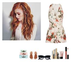 """Clary Fray // Traveling"" by aslproductions ❤ liked on Polyvore featuring Anastasia Beverly Hills, NARS Cosmetics, Yves Saint Laurent, H&M and Topshop"