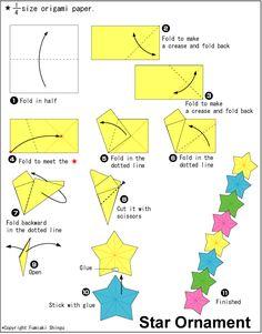origami diatas ketika di tarik menjadi seperti gambar di bawah ini