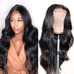 Natural Looking Wigs, Natural Hair Styles, Remy Human Hair, Human Hair Wigs, Lace Front Wigs, Lace Wigs, Ali Pearl Hair, Body Wave Wig, Hair Quality