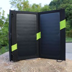 ==> [Free Shipping] Buy Best 14W Solar Panel Charger Solar Phone Charger with 2 USB Ports High Efficiency Outdoor Solar Panel for any 5V mobile phones Online with LOWEST Price | 32799529231