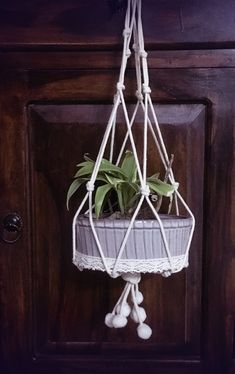 Green memoir🌿 Just tried my hand on macrame and this beautiful thing came out!