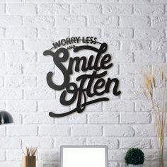 Metal Plaka - Smile Often