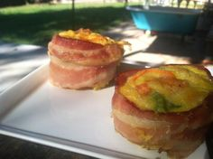 Bacon-Wrapped Egg Muffins  @Matty Chuah Cafe Wellness