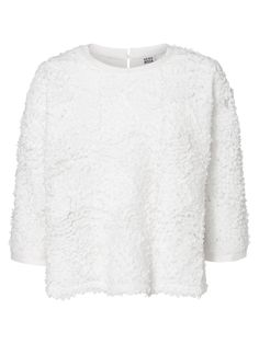 Winter white shirt from VERO MODA. Wear this with your favourite pair of jeans.