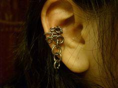 Gun Metal Hardwire Ear Cuff