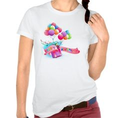 Ladies Happy #birthday #Tshirt