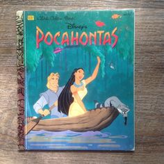 Vintage Disney Pocahontas 104-71 Little Golden Book 1995 Korman Williams Princes  | eBay